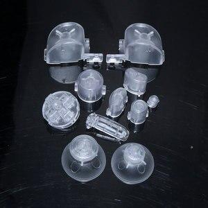 Image 5 - ChengHaoRan 10X Toàn Bộ L R ABXY Z Bàn Phím Nút cho GameCube Trò Chơi Điều Khiển Joystick Cap đối với NGC D Miếng Đệm power ON TẮT Nút