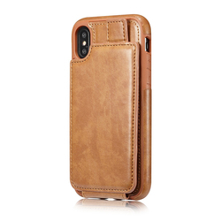 New iphoneX mobile phone cases iphone 6 7 8 / business anti-fall wallet style mobile phone shell unisex mobile phone shell sale 5