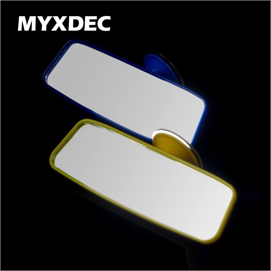Wholesale New Hot Selling Safety View Mirror Back Seat Skin Car Windshield Mirror For Baby Mirror Black/Yellow/Blue