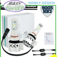 2017 nieuw high power Gen 8th 9005/HB3 72 W 12000lm C-XHP50 LED Rijden lamp DRL Koplamp AUTO Plug & Play mistlicht kit