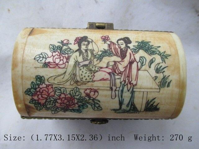 Древняя китайская красота, резьба по кости, три слоя ювелирных изделий