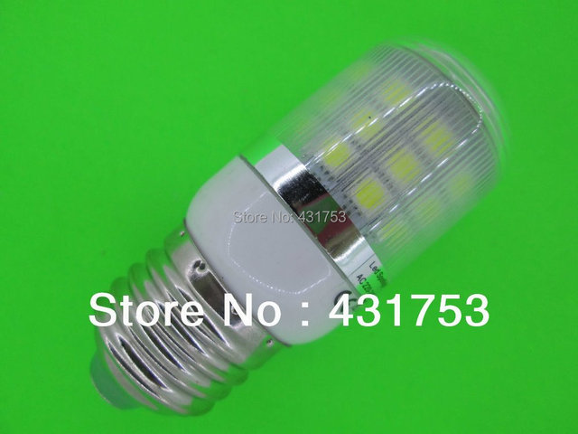 Real Hot Sale Freeshipping Lamp E27 360 Degree 30 Smd 5050 Led Light Bulb Warm 220v 660lm Corn Spotlight Bulbs with Cover