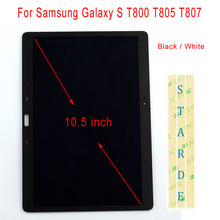 STARDE Replacement LCD For Samsung Galaxy S T800 T805 T807 LCD Display Touch Screen Digitizer Assembly 10.5″