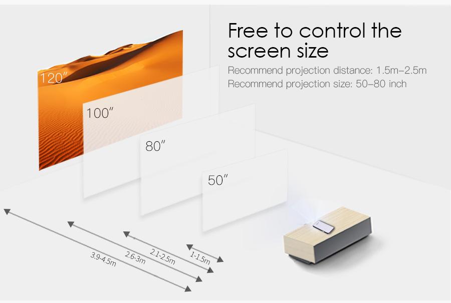AODIAN AODIN 3D HD Mini projector DLP support 1080P video 8G pico pocket projector for home theater HDMI smart led portable projectors-14