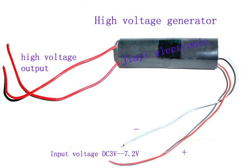 200KV High voltage igniter electrostatic generator inverter high voltage  module input dc 3V -6V X7865