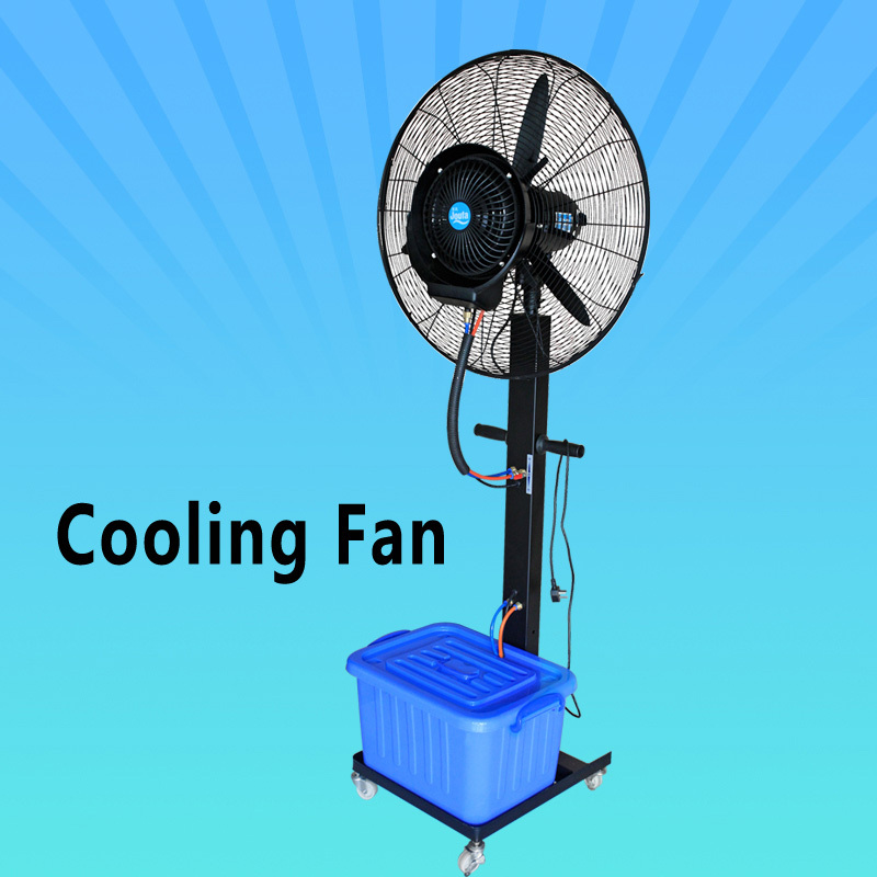 Strong Wind Portable Water Fan That Blow Cold Air On
