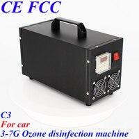 Pinuslongaeva C3 for car dc12v 3.5g 7g/h Portable stainless steel shell ozone machine multi function ozone generator