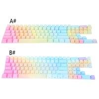 Rainbow Keycap Translucidus Backlight Keycap ANSI layout Keyboard Key OEM Caps
