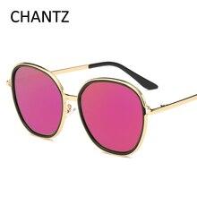 Vintage Ronda gafas de Sol de Espejo Gafas de Metal Accesorios de Moda de Mujer de Marca Gafas de Sol de Los Hombres UV400 Gafas De Sol Mujer
