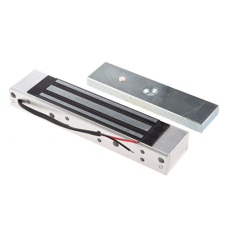 Однодверный 12V электрический магнитный электромагнитный замок 180 кг (350LB) удерживающая сила для контроля доступа серебро
