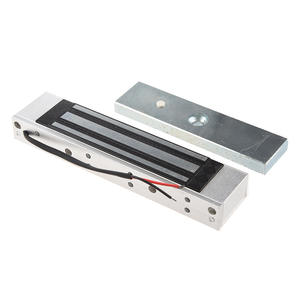 Electromagnetic-Lock Holding-Force Single-Door 12V 350LB 180KG Access-Control Silver