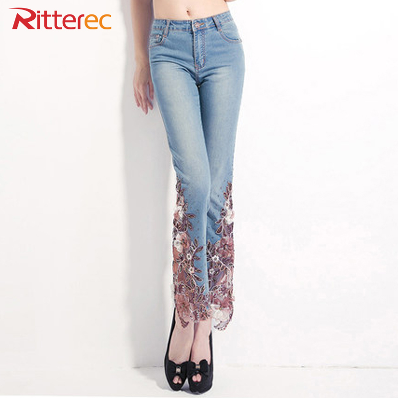 Online buy wholesale lace denim from china