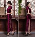 Free shipping Hot Long Charming Chinese women's dress evening dress Cheongsam Qipao size S--XXL