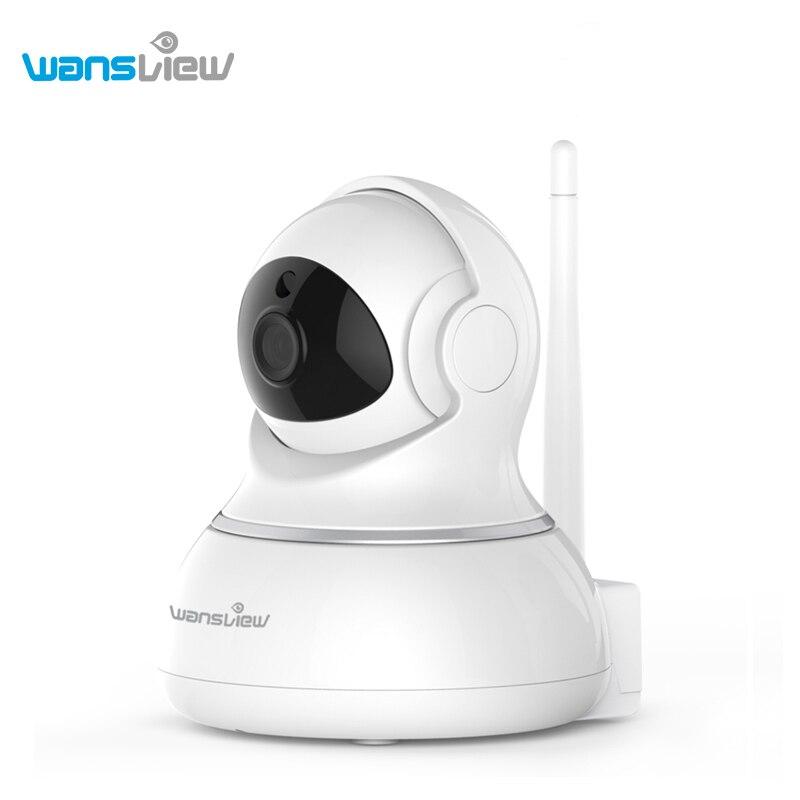 Wansview Sans Fil Caméra IP WiFi de Sécurité À Domicile Caméra de Surveillance pour Bébé Moniteur 360 Pan/Tilt à Deux Voies audio Nuit Vision