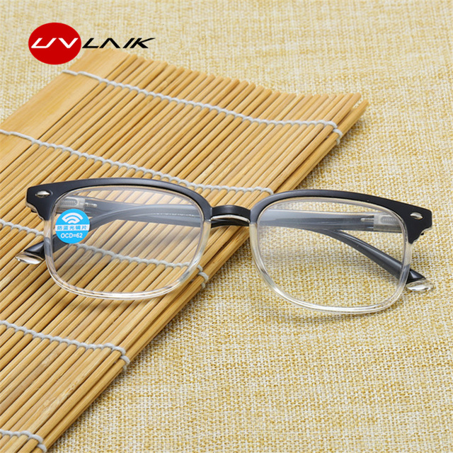 078ff21f882 Progressive Multifocal Glasses Men Anti-blue light Reading Glasses Women  Points for Reader Near Far Sight Diopter +1.0 To +3.0