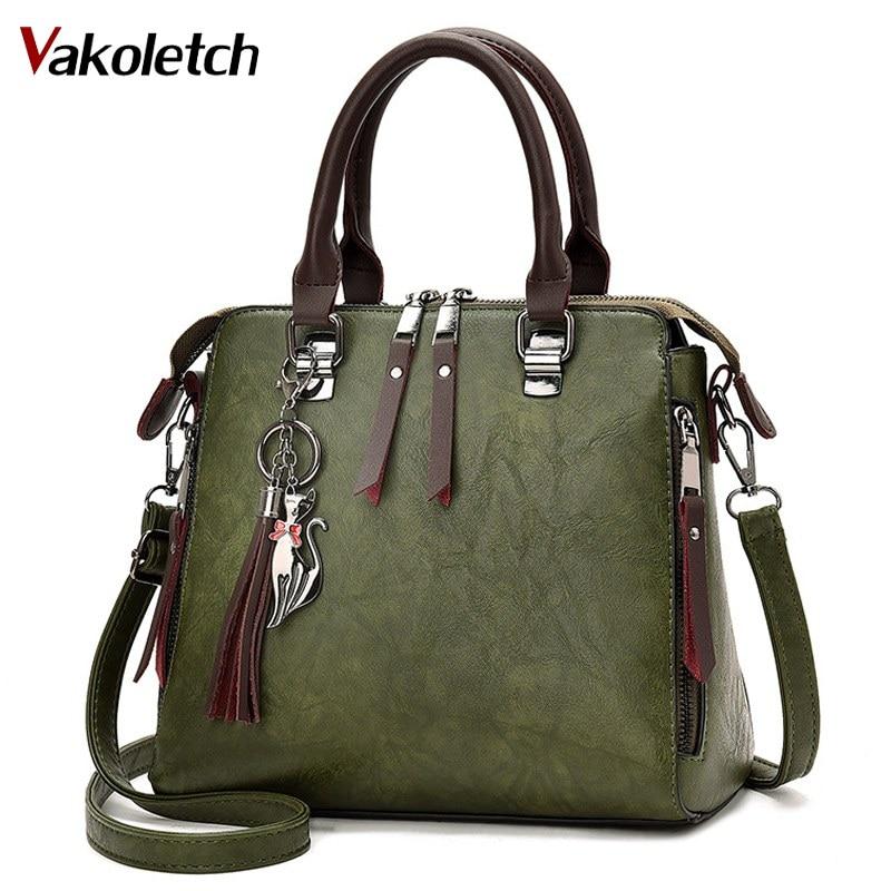 Women Handbag Famous Brand PU Leather Lady Handbags Luxury Shoulder Bag Large Capacity Crossbody Bags Women Casual Tote KL140