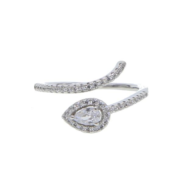 2018 top quality factory on sale price nice jewelry tear drop birthstone black r