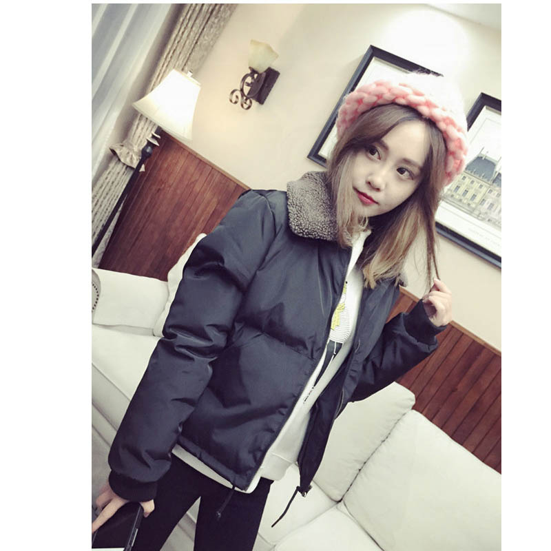 Women Winter Coats 2016 Woman Short Velvet Fleece Parka Down Jacket Female Warm Elegant Hooded Jackets