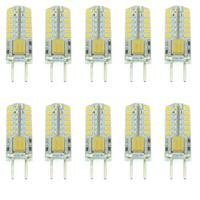 10pcs G4 AC DC 12V 10 20V 3W 140 160LM 2700 3500K SMD 3014 48 LED