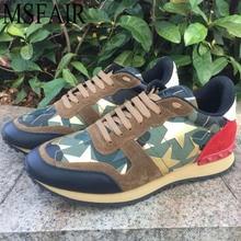 MSFAIR Αθλητικά τρέξιμο Ανδρικά τρέχοντα παπούτσια Αθλητικά παπούτσια για άντρες Εξωτερική αθλητική δερμάτινη αγελάδα Καλοκαιρινή αναπνεύσιμη μάρκα Ανδρικά πάνινα παπούτσια