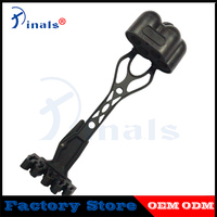 1pc High Quality Compound Bow Arrow Quiver for 4pcs Arrows black Arrow Bag Holder Outdoor Shooting Accessories Quivers