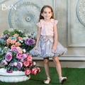 Colorful baby kids girls chiffon fluffy pettiskirts summer skirts dance wear Children party costume 12 color Free shipping
