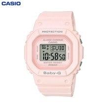 Наручные часы Casio BGD-560-4E женские кварцевые на пластиковом ремешке