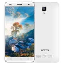 TOP VENTE Smartphone ECETD ET600 blanc couleur multi-langue 4G LTE 500 W caméra 2600 mAh longue attente soutien d'empreintes digitales