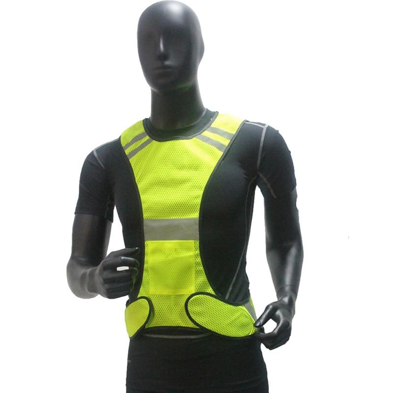 Chaleco reflectante de alta visibilidad para correr Chaleco de malla - Ropa deportiva y accesorios - foto 3