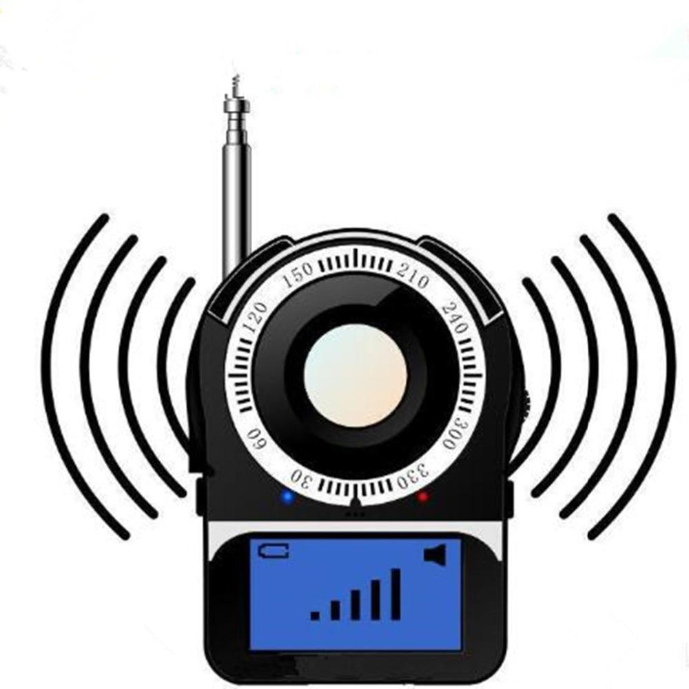 CC-309 Anti-Spy Full Band Signal Bug RF Detector Camera Laser Lens GSM Finder Portable Wireless Detector Anti Eavesdrop Monitor anti spy signal bug rf detector camera laser lens gsm finder portable wireless detector anti eavesdrop monitor anti candid