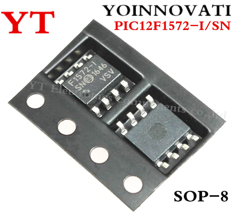 160pcs/lot PIC12F1572-I/SN PIC12F1572-I PIC12F1572 12F1572 MCU 8BIT 3.5KB FLASH SOP8 IC Best Quality.