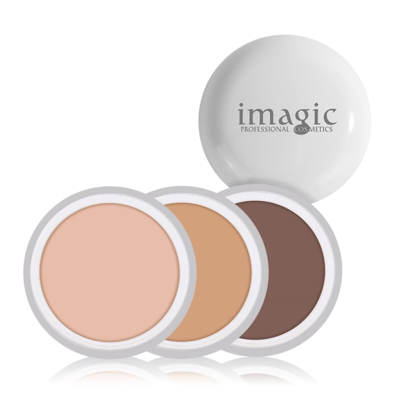 IMAGIC Concealer Cream Natural Herbal Pro Concealer Foundation Cover Face Green Concealer Makeup 10 Color Corrector Concealer 1