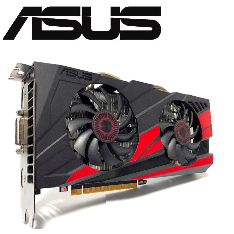 Asus GTX-960-OC-2GB nVIDIA GeForc GTX960 2G D5 DDR5 128 Bit PC Desktop Placas Gráficas PCI Express 3.0 computador Placa Gráfica cartões
