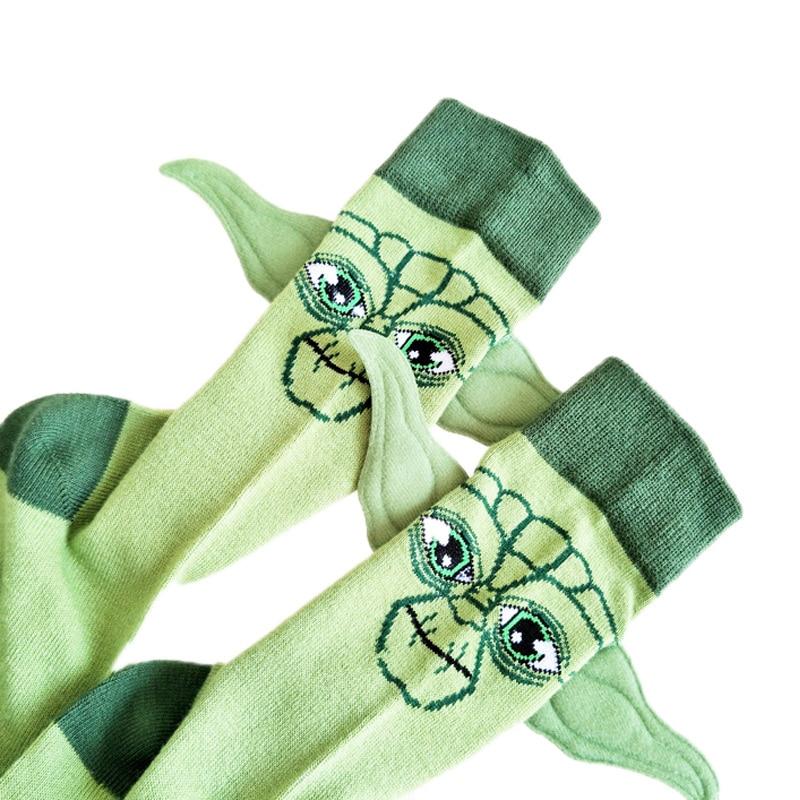 July's Song Star Wars Respected Jedi Master Socks Street Cosplay Cotton Comics Women Men The Force Awakens Socks Party Novelty F