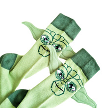 JULY'S SONG Star Wars Respected Jedi Master Socks Street Cosplay Cotton Comics W