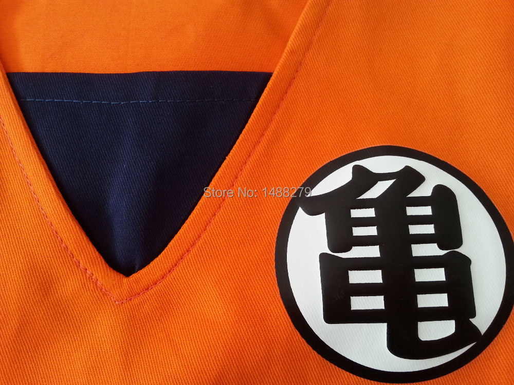 2019 New Japanese Anime Dragon Ball Goku Cosplay Costume Kids Cute Goku Outfits Halloween Costumes for Kids
