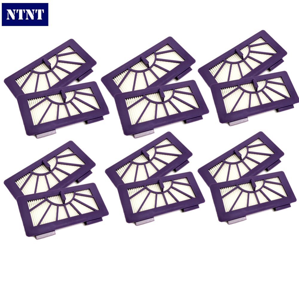 NTNT Free Post New 12 Pack Hepa Filter For Neato Cleaner XV-11,XV-12,xv-14,XV-15,XV-21,XV-25 neato spiral blade brush 6 piece brush blade and 1piece squeegee replacement pack xv 11 xv 12 xv 14 xv 15 xv 21