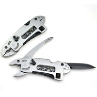 EDC Camping Multi Function Combination Tools Knife Clamp With Wrench Tool Outdoor Survival Stainless Steel Pliers