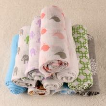 Breathe Absorb Water Baby Swaddling Blanket 135X 135 CM Newborn Infant New Arrival 100 Cotton Bath