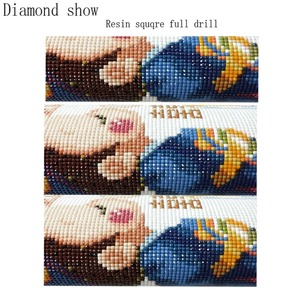 """Image 5 - 5pcs Full Square Drill 5D DIY Diamond Painting lily """"colourful flower"""" Multi picture Combination 3D Embroidery Mosaic Decor"""