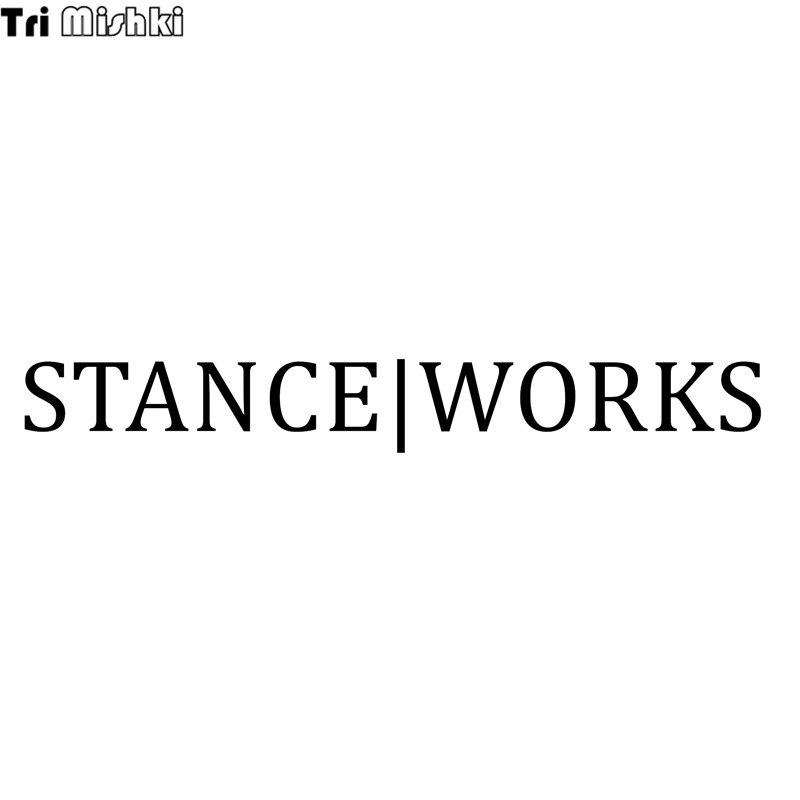 Tri Mishki 75x58cm words stance work funny car sticker Vinyl Decals - tri words