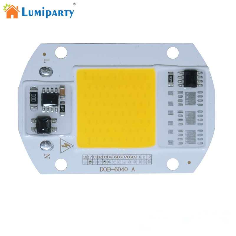LumiParty LED COB Lamp Integrated High Power Light 220V Lamps With Smart IC Driver 30W 50W Spotlight White / Warm White LED Ligh ...
