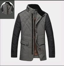 2016 winter new brand men's jacket collar male jacket coat comfortable and warm thick coat