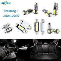 18pcs LED Canbus Interior Lights Kit Package For Volkswagen VW Jetta Touareg 1 2004 2007