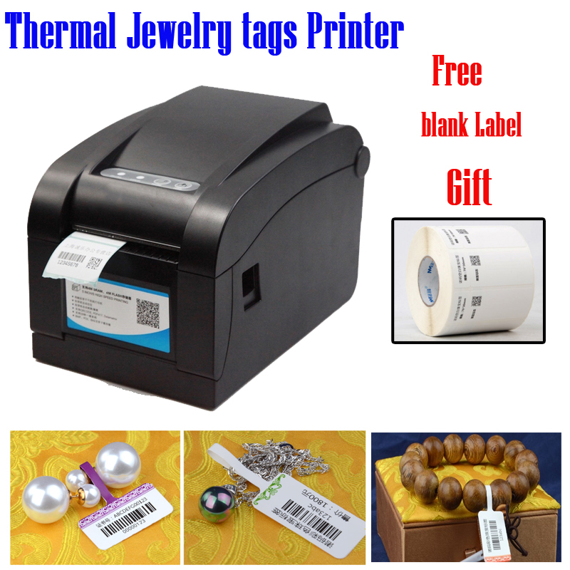 Cheap Price Thermal Jewelry Printer Set With A Label Stratch Proof Free Label Software Free Jewelry Tags Templates