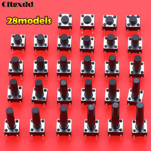 Cltgxdd 280PCS 6*6*4.3mm 5 6 7 8 9 10 11 12 13 14 15 16 6X6 4Pin Tactile Tact Push Button Micro Switch Self-reset DIP Switches(China)