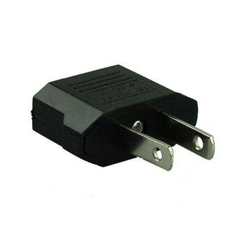 2pcs EU Europe European AC to American US USA Travel Charge Power Plug Adapter Outlet Converter Adaptador For Mobile phone Euro International Plug Adaptor