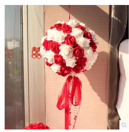 Wedding Supplies Garland Room Layout Pull Hi New Home Decorative Items Yarn  Flower Ball Ornaments Shaman In Artificial U0026 Dried Flowers From Home U0026  Garden On ...