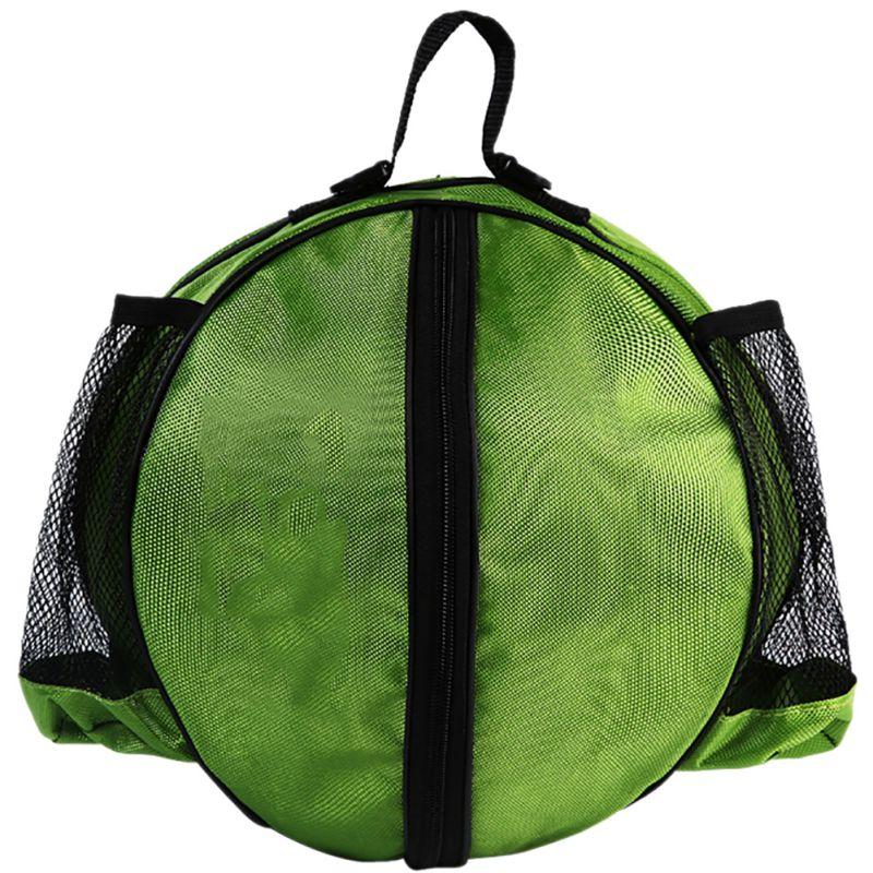 Круглая Сумка для мячей, рюкзак для баскетбола, волейбола, футбола, регулируемый наплечный ремень, сумки для хранения-1