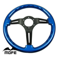Mofe Car 350mm Real Wood Steering Wheel Deep Dish Steering Wheel For Sport Car
